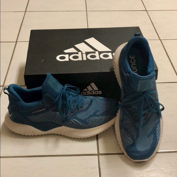 buy popular 20d5a f23d2 adidas Other - Adidas alphabounce beyond bluegrey size 13